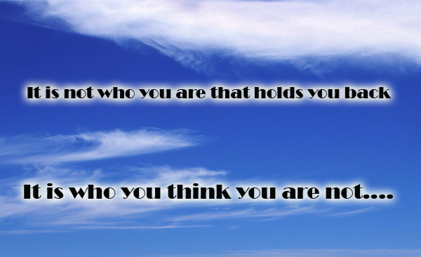 who you are not